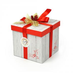 Confezione regalo grande, simpatica e gustosa idea regalo per tutte le occasioni. Idee regalo n. 4