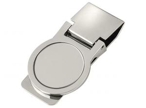 Fermasoldi in acciaio cm.5,8x3,1x1,5h diam.2,5