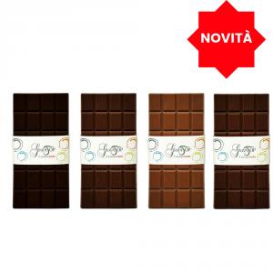 Tavoletta di Cioccolato Fondente Abinao Grand Cru d'Africa 85% 100gr