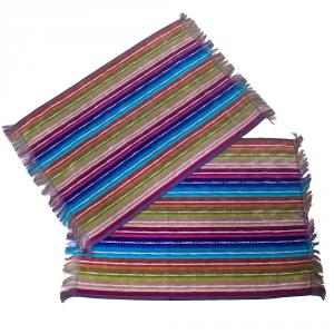 Missoni Home set 2 asciugamani ospite 40x60 cm NATHAN 170 righe