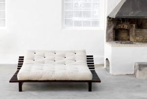 Blues letto in legno con testiera reclinabile
