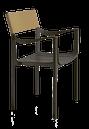 Sedia impilabile per interno/esterno mod. Venice Magis