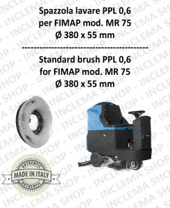 MR 75 spazzola lavare PPL 0,6 per lavapavimenti FIMAP