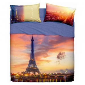 Set lenzuola letto matrimoniale 2 piazze BASSETTI PARIS FOREVER