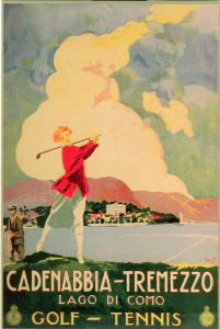 Poster su legno - Lago di Como