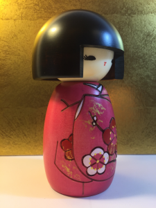 Kokeshi Ragazza dal Caschetto - Okappa-san