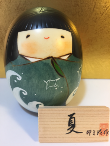 Bambola Kokeshi, Estate