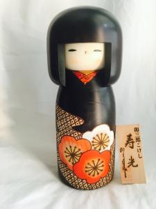 Bambola Kokeshi - Luce della festa (Juko)