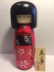 Bambola Kokeshi Sogno di Primavera