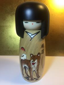 Bambola Kokeshi - Inu