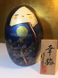 Bambola Kokeshi - Banshu