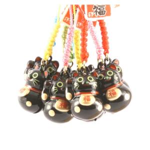 Maneki Neko, ciondolo nero