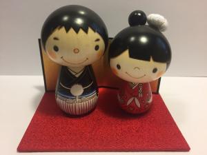 Topper - Cake Kokeshi Sposi 02