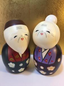 Bambola Kokeshi set, Sempre Uniti