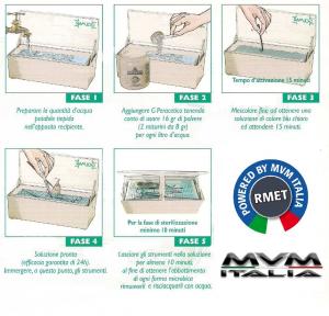 Peracetico per disinfezione e sterilizzazione (500gr)