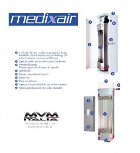 MedixAir Sterilizzatore Aria