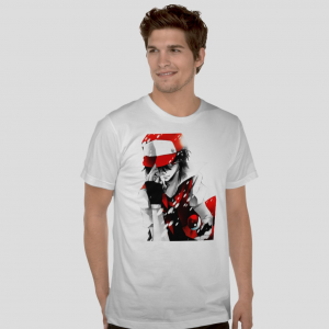 Ash Ketchum Pokemon character protagonist japanese anime white t-shirt