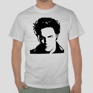 Edward Cullen Twilight Saga Robert Pattinson movies white t-shirt