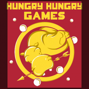 Hungry hungry Games parody