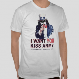 Kiss Army I want you