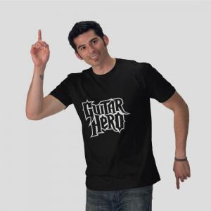 Guitar hero black t shirt