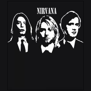 Nirvana Grunge Band Rock member Kurt Cobain Dave Grohl Krist Novoselic