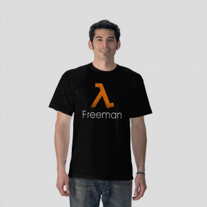 Freeman half life video games