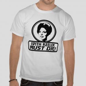 Edith Keeler Must Die Star Trek series The City on the Edge of Forever Joan Collins white t-shirt
