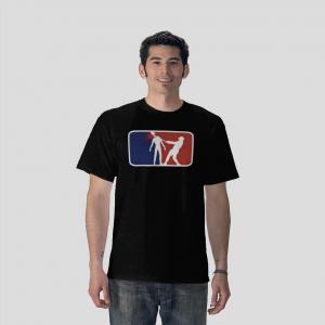 Zombie super ligue black t-shirt