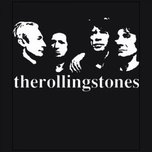 The Rollingstones member Rock band black t-shirt