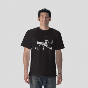 Samuel L. Jackson Jules Winnfield Pulp Fiction Movie black t-shirt