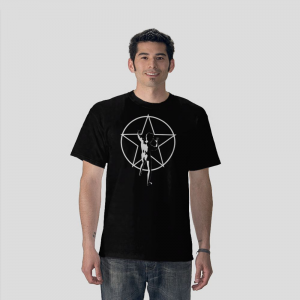 The Rush Star Man Black T-shirt