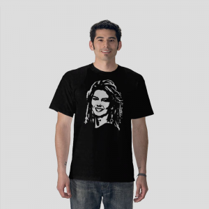 Shania Twain Country music singer musician black t-shirt