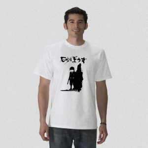 Desert punk kanta handyman night suit - get punked anime manga white t-shirt