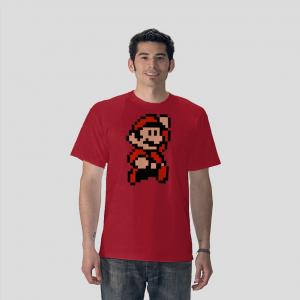 Red super mario Bros video game