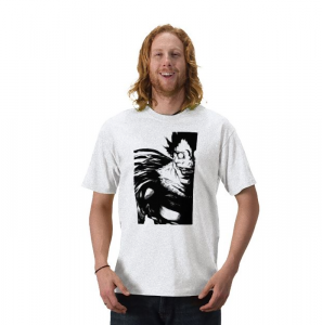Death Note shinigami ryuuk from hell reaper anime manga white t-shirt