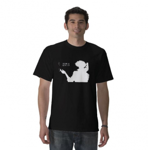 smooking Spike Spiegel Bounty hunter bebop space ship cowboy member crew anime Black t-shirt