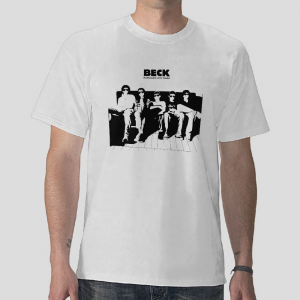 member Beck Mongolian Chop Squad mcs rock band manga by harold Sakuishi white t-shirt