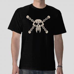 skull piratae chain jolly roger