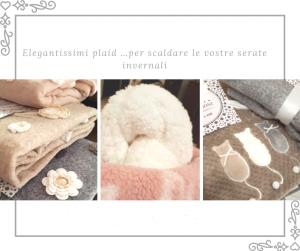Babysanity- Eleganti e morbidissimi plaid