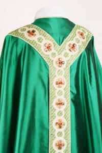 Casula CPD506 Verde - Pietre Rosse