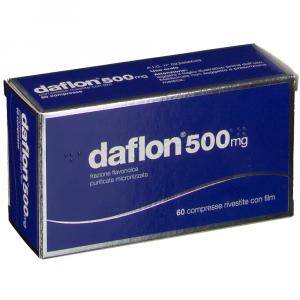 DAFLON COMPRESSE A BASE DI DIOSMINA/ESPERIDINA 500 MG