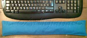 Poggiapolso per Tastiera con Pula di Farro Biologica