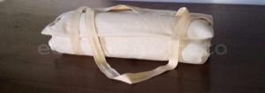 Tappetino Cuscino Yoga Meditazione Portatile 40x70 Con Pula Di Farro Biologica