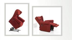 Poltrona Relax 2 Motori mod. Milonga Con Kit Rolley Omaggio