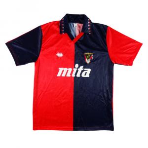 1991-92 Genoa Maglia Home XL *Cartellino e Confezione