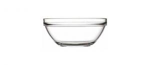 Coppa Macedonia Gelato in vetro impilabile 6 pezzi cm.6,5h diam.13,5