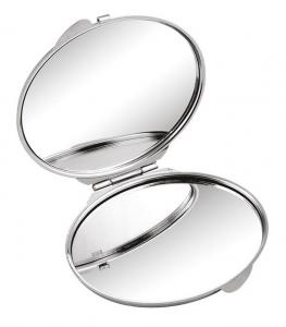Specchietto ovale in metallo cm.5,5x7x0,8h