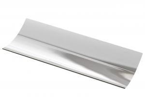 Vassoio portapenne ondulato in silver plated stile Cardinale cm.20x8x4h