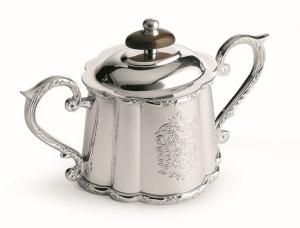 Zuccheriera stile inciso argentato argento sheffield